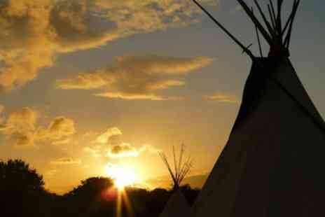 Tipi Adventure - One or Two Nights For Two With Option For Canoe Hire - Save 73%