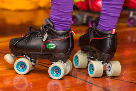 Simply Skate - Roller skating admission, skate hire and a drink for two - Save 55%