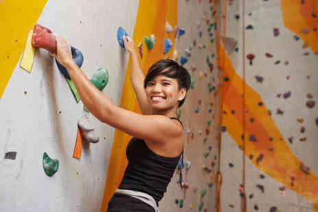 Karma Climbing Centre - One hour climbing lesson and day pass - Save 67%