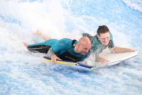 Twinwoods Adventure - Flowrider Indoor Surfing Experience for One or Two People - Save 43%