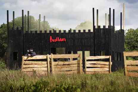 Bedlam Paintball - Paintballing day for up to 5, 10, 15 or 20 People - Save 95%
