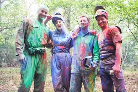 Skirmish Paintball Wycombe - Paintballing Day fo Up to 15 People With 100 Balls Each - Save 0%