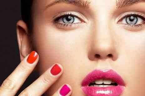 Flawless Luxe - Shellac Manicure, Spa Pedicure or Both - Save 57%