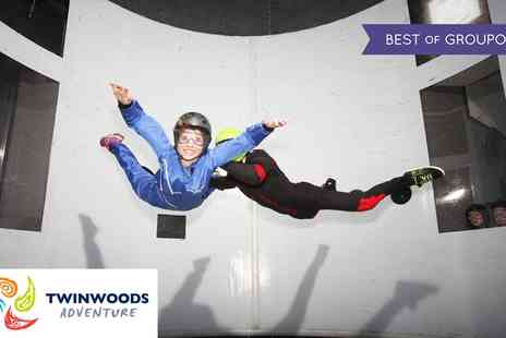 Twinwoods Adventure - Indoor Skydiving Experience For Up to Two - Save 50%