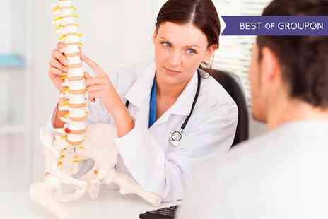 Glasgow Chiropractic Clinics - Chiropractic Consultation, Examination and Three Treatments - Save 75%