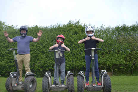 Segway Unleashed - Off road Segway experience for one - Save 65%