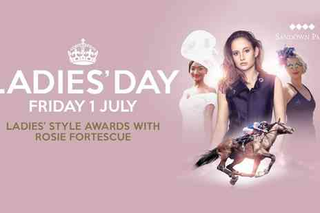 Sandown Park Racecourse - Entry to Ladies Day on 1 July - Save 38%