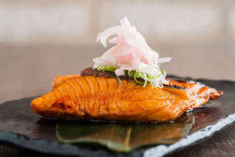 Murakami London - £50 voucher for two people to spend at sushi and Japanese grill restaurant  - Save 50%