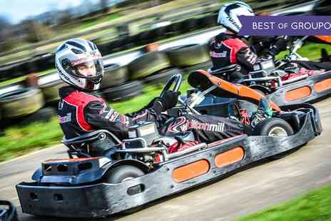 Whilton Mill - 30 Laps of Go Karting for Up to Six - Save 0%
