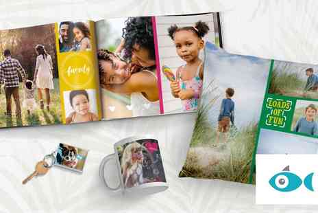 Snapfish - £30 to Spend on Personalised Photo Albums, Prints and Gifts, Including Fathers Day Keepsakes - Save 67%
