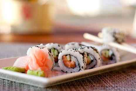 Sakushi - Eight Plates of Sushi For Two to Share - Save 58%