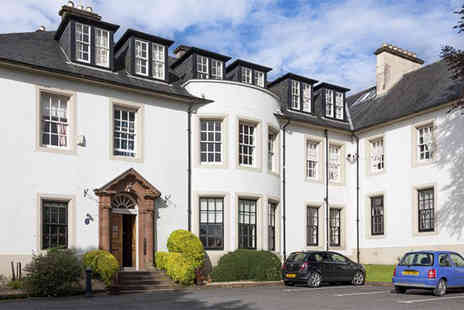 Hetland Hall Hotel - One or Two night stay for two including a two course dinner and a glass of bubbly each  - Save 55%