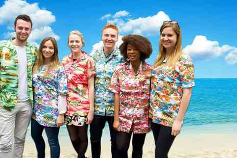 True Face - Mens short sleeve Hawaiian shirt choose from 15 fabulous designs - Save 80%