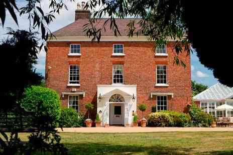 The Hadley Park House Hotel - One or Two night Shropshire stay for two with breakfast and two course dinner - Save 49%