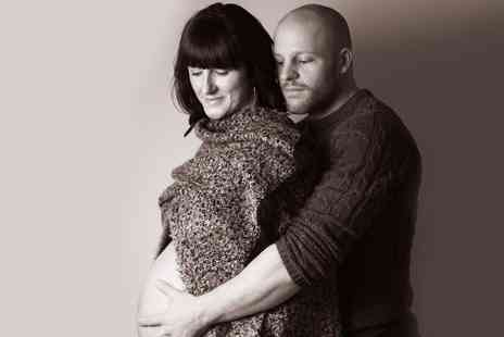 Photography By Marc Lloyd Evans - Bump to Baby Photoshoot with Prints - Save 93%