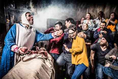 London Dungeon - The London Dungeon Standard Ticket Plus FREE Drink - Save 0%