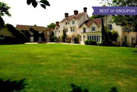 Esseborne Manor - One to Three Nights Stay For Two With Breakfast, Dinner, Tea and Scones Plus Golf  - Save 39%