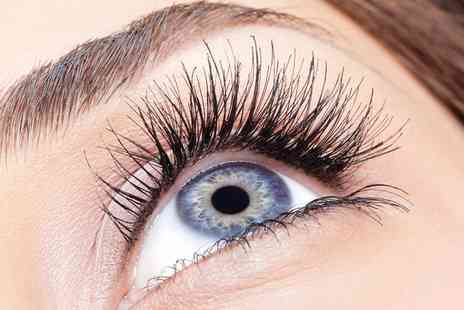Nail & Beauty - Eyelash Extensions with Optional Eyebrow Shaping - Save 62%