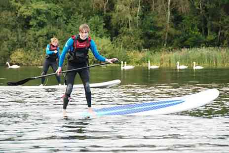 Devon Windsurf & Canoe Centre - Two Hour Paddleboarding Session for One or Two  - Save 56%