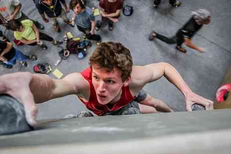 Karma Climbing Centre - One Hour Climbing Session with Day Pass for Up to Four - Save 67%
