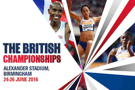 UK Athletics - Ticket to the British Championships finals day on Sunday 26th June - Save 0%
