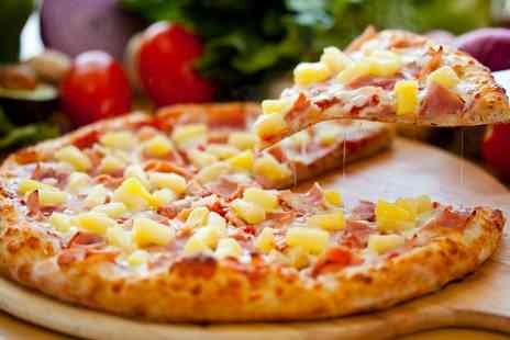 The Pizza Base - Pizza and Drinks for Two or Four - Save 66%