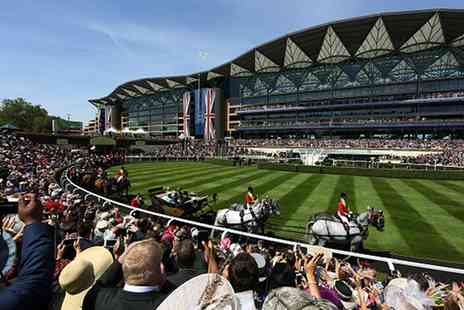 Phoenix Tours - Royal Ascot Ladies Day for One or Two with Ticket, Transport, Glass of Bubbly and Picnic Style Lunch - Save 31%