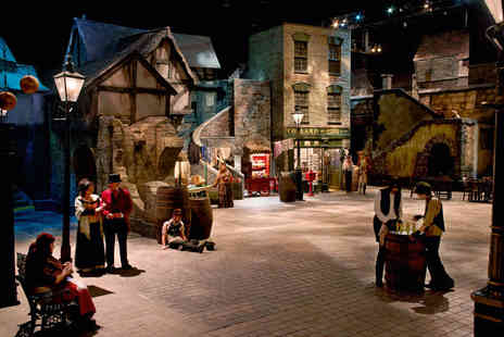 Dickens World - Ticket to Dickens World The Grand Tour, Chatham including a hot or cold drink - Save 0%
