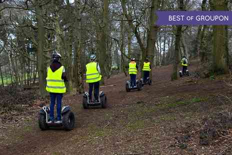 Dorset Segways - One Hour Segway Experience with a £5 Tea Voucher for One or Two - Save 51%