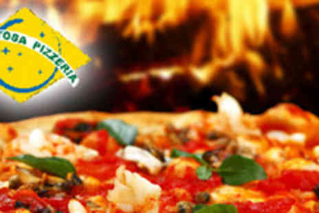 Gostosa Pizzeria - 12 inch pizza with a choice of topping and two soft drinks - Save 60%