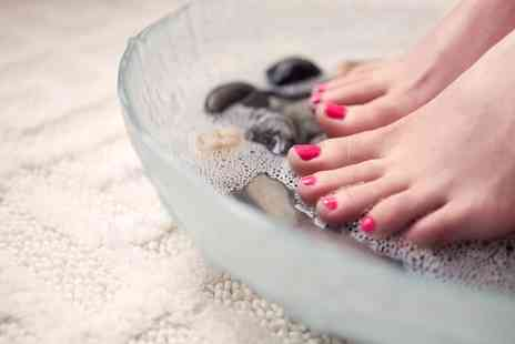 Sunset Boulevard - Classic Shellac Manicure, Pedicure or Both, or Luxury Manicure - Save 52%