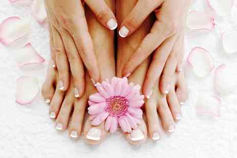 Beauty and Melody Spa - OPI Gel Manicure or Pedicure - Save 47%