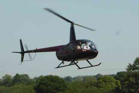 Flying Pig Helicopters - Fathers Day Helicopter Flying Experience  - Save 0%