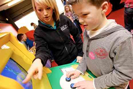 Techniquest Glyndwr - Science Centre Admission For Two or a Family of Four - Save 57%