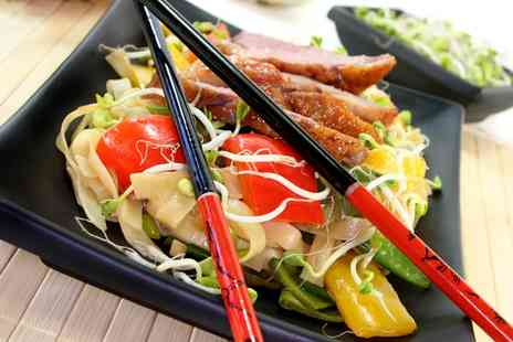 China City - Two Course Chinese Meal with Rice for Two or Four - Save 62%