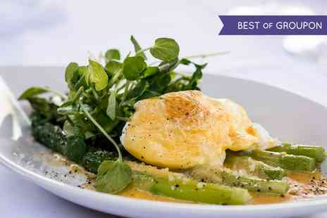 Riverside Brasserie - Three Course Dinner and Champagne for One, Two or Four - Save 48%