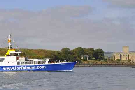 Forth Boat Tours - 90 minute Forth Bridges sightseeing cruise for two - Save 50%