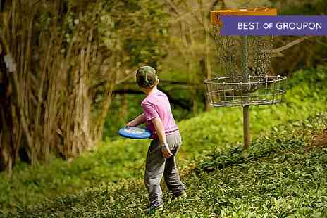 Mendip Activity Centre - Disc Golf Day Pass Plus Optional Drink Each for Up to Four - Save 50%