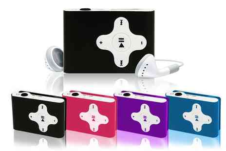 Groupon Goods Global GmbH - Aquarius MP3 Player in Choice of Colour With Kingston Micro SD Class 4 8GB - Save 63%