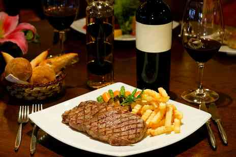 The Tudor House Inn - Steak Meal with Wine For Two or Four - Save 0%