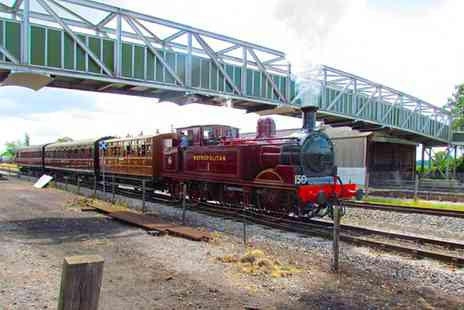 Buckinghamshire Railway Centre - Tickets to Steaming Day for Two Adults or a Family - Save 50%