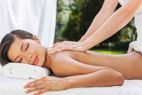 Blessed - Back, Neck and Shoulders or a Hot Stone Back Massage with a Mini Facial - Save 40%