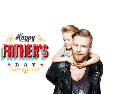 Trendy Art - One hour Fathers Day photoshoot for up to five at Trendy-Art, Whitley Bay - Save 0%