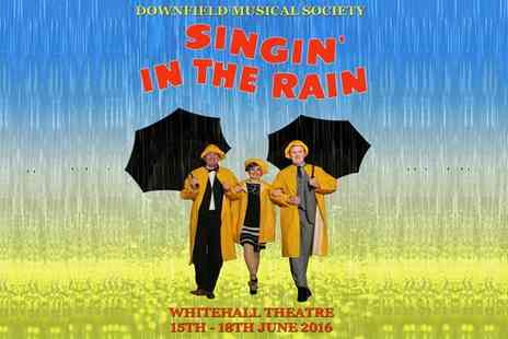 Downfield Musical Society - Singin In The Rain Two Tickets On 15 To 16 June - Save 50%