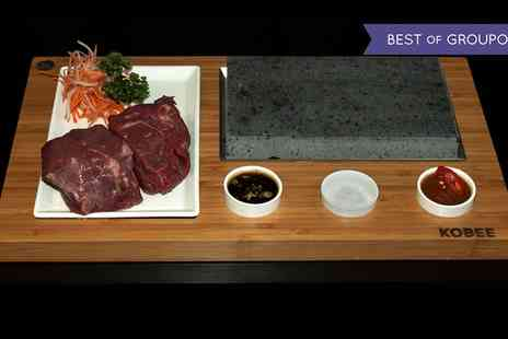 Kobee - Choice of Steak Meal Cooked on Marble Stone - Save 0%
