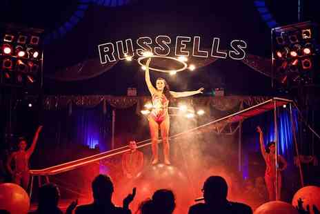 Russells International Circus - Two or Five Front Circle Tickets - Save 70%