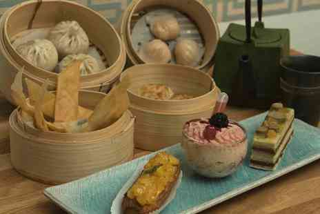 OnCafe - Dim Sum Menu with Dessert and Drinks for Two or Four - Save 46%