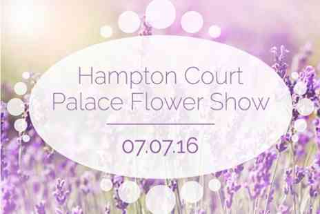 Hampton Court Palace Flower Show - Visit to Hampton Court Palace Flower Show on Thursday 7 July 2016 - Save 0%