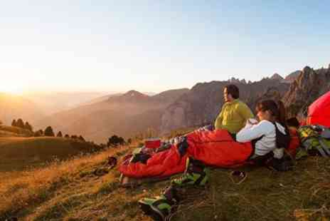 Mountain Monkeys - Overnight Camping for 2 with Breakfast, Dinner & More - Save 34%