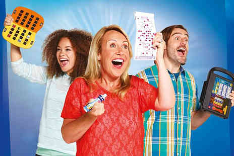 Gala Bingo - Up to 10 games of bingo for two including chips aa choice of one topping each - Save 80%